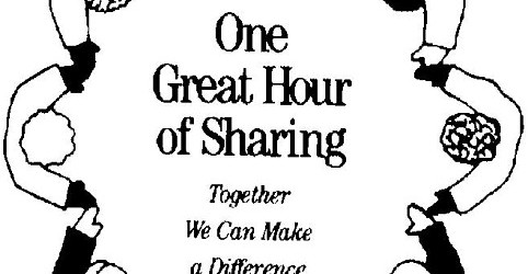 One Great Hour of Sharing reduced