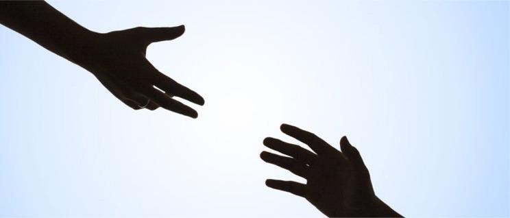 lend a hand banner