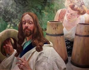 Malczewski_Christ_and_the_Samaritan_woman